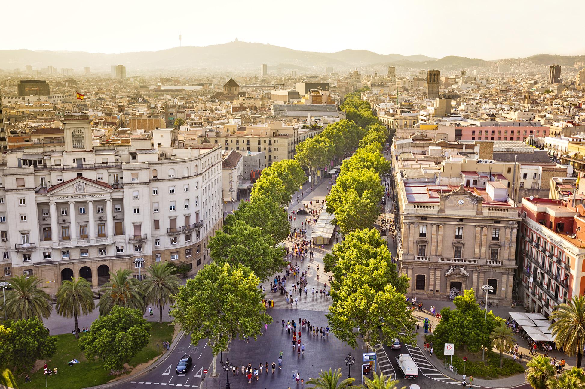 La Rambla in Barcelona